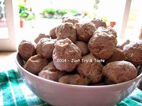 Just Try & Taste: Bakso Daging Sapi Spesial - Versi lebih mudah dan tak kalah mental!