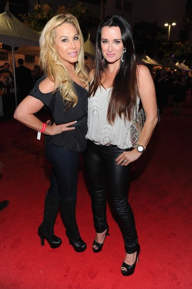 Kyle Richards Adrienne Maloof Photos: Premiere of Los Angeles Food & Wine - Inside