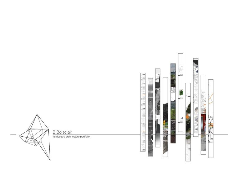 Benjamin Boisclair _ landscape architecture portfolio  '11-14 undergraduate landscape architecture portfolio