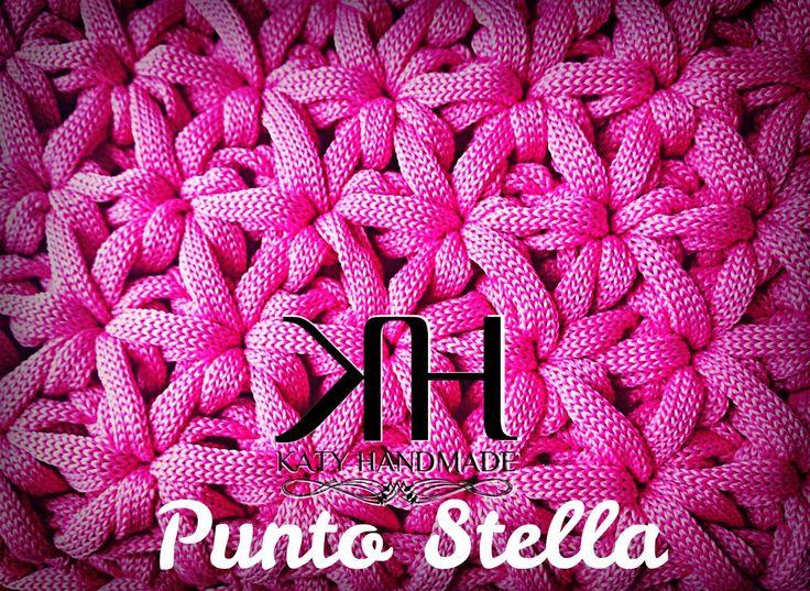 Katy Handmade: [Tutorial]: Punto Stella (a modo mio)