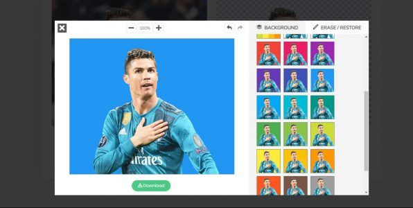 تغيير و إضافة خلفية للصورة اون لاين بدون برامج مجانا