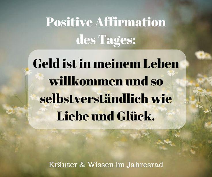 Positive Affirmationen und Motivationssprüche für jeden Tag findest du auf Kr…