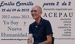 Charla en Lleida Septiembre 2012-Emilio Carrillo 2 de 2 - yo soy y nueva humanidad.