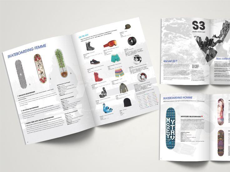 Projet Mise en page catalogue par Bruno Marcovecchio