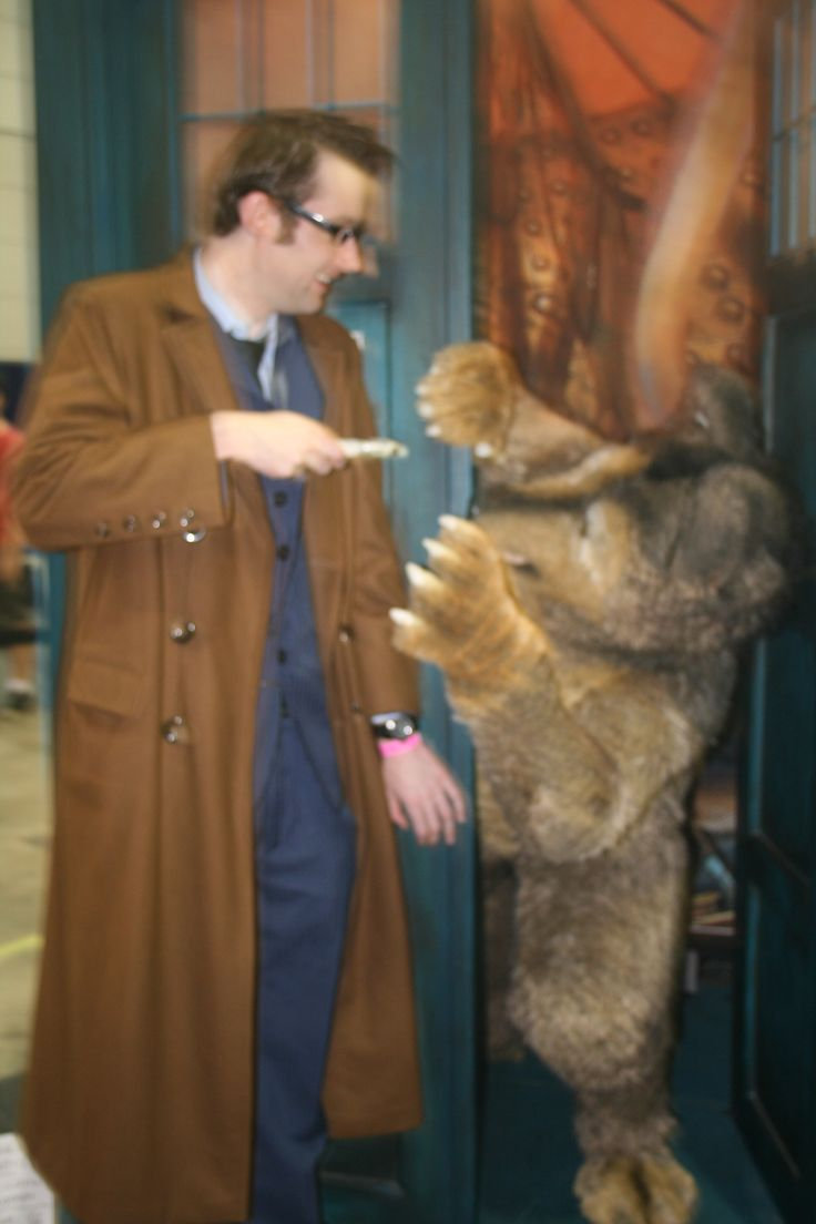 The Doctor and BAD WOLF
