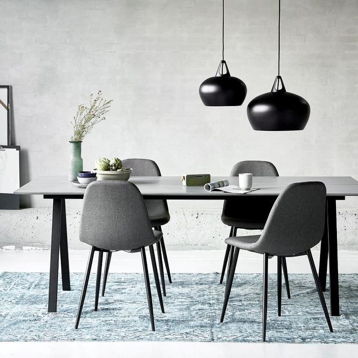 Belly Pendant Lights over dining table
