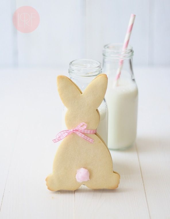 Bunny biscuits for Oscar's first birthday