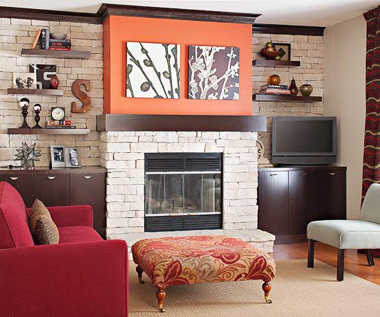 The 25 best Fireplace facade ideas on Pinterest