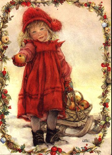 Lisi Martin (often erroneously attributed to Carl Larsson on Pinterest but this work is by Lisi Martin)