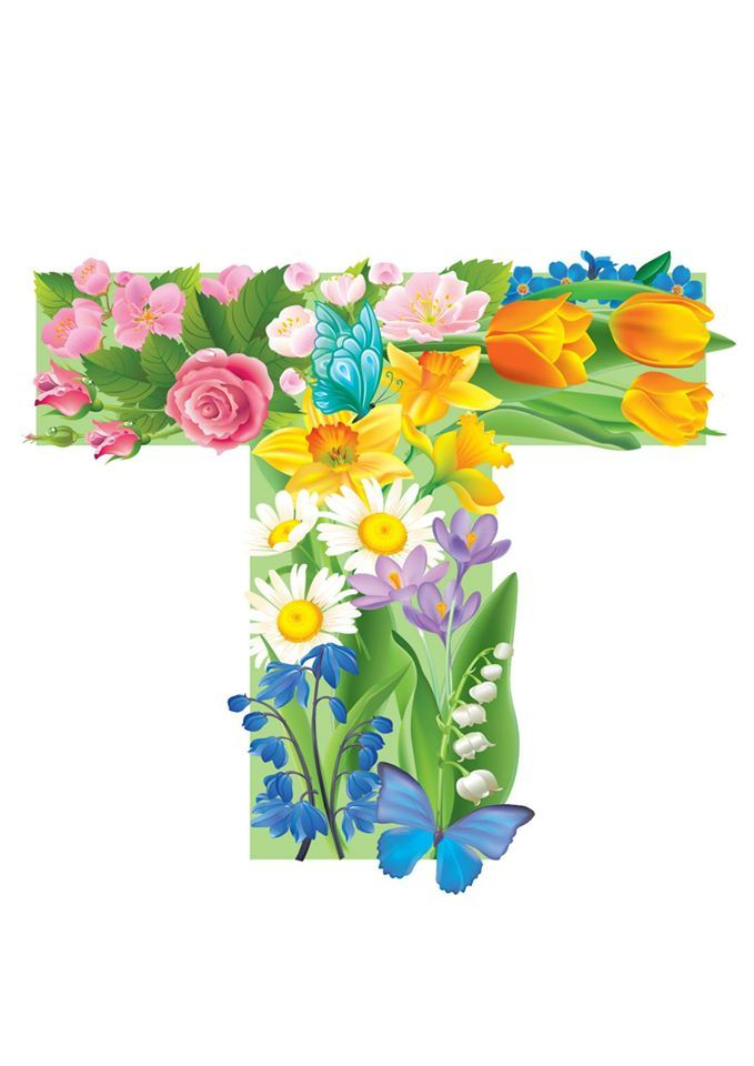 T - Floral