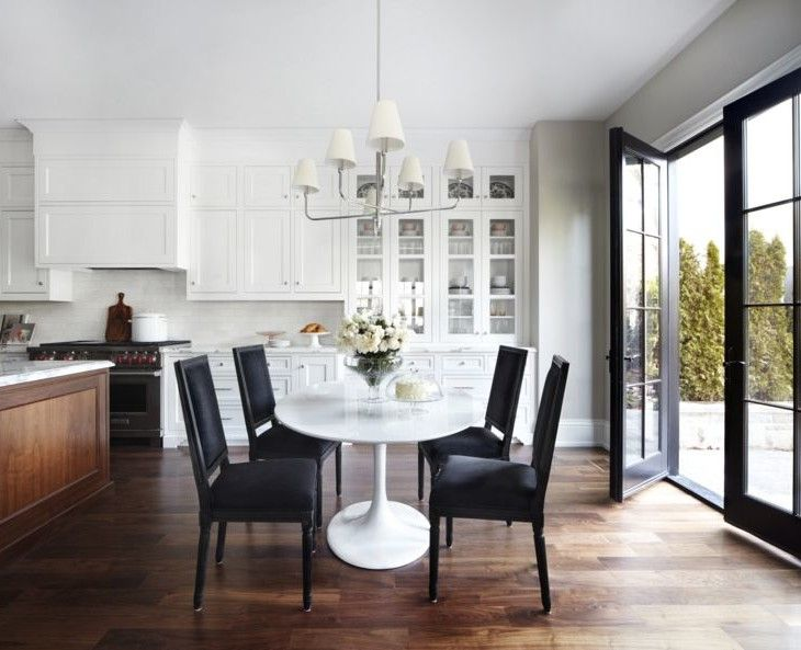 White Kitchen And Dining Room 374 best interiors - dining spaces images on pinterest | dining