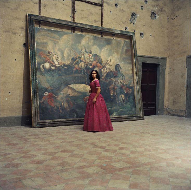 Il Gattopardo/The Leopard (Luchino Visconti, 1963). Production design Mario Garbuglia. Set decoration Laudomia Hercolani, Giorgio Pes.