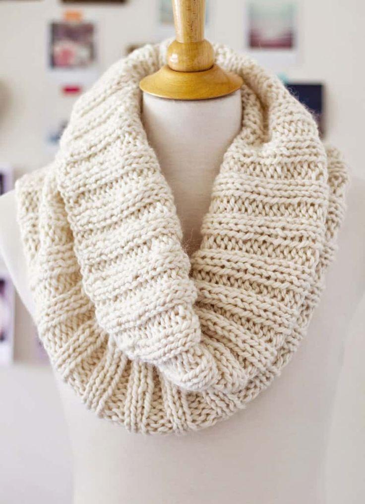 20 projetos de tricô fáceis que todo iniciante pode fazer