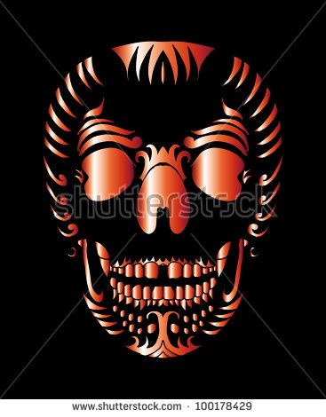 BUY&DOWNLOAD NOW   portfolio JPEG+EPS (BUY): http://www.shutterstock.com/g/a1vector?rid=962711#skull #tattoo #tribal #isolated #skeleton #symbol #head #vector #death #black #illustration #demon #halloween #monster #scary #painting #pattern #sign #drawing #spooky #danger #graphic #mask #cranium #fear #decorative #devil #emblem #gothic #artwork #summer #concept #celtic #abstract #ocean #Illustration #vintage #bird #sketch #poison #patchwork #wings #eagle #embroidery #falcon #fashion