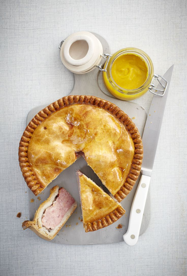 A traditional Pork Pie recipe - just add a dash of English mustard & complete happiness is but a bite away.