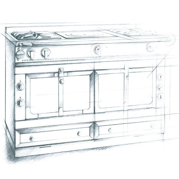 illustration cuisinière LA CORNUE Florence Gendre #illustration #design