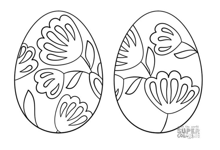 Free And Printable Easter Egg Coloring Pages Rhpinterestca: Super Coloring Pages Easter At Baymontmadison.com