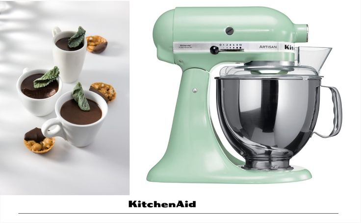 Happy World Chocolate Day! We're celebrating with some Desserts Petits pots de crème au chocolat et à la menthe. These little chocolate pots are extremely quick and easy to make with your Artisan Stand Mixer. You can find this recipe from the KitchenAid Artisan Stand Mixer Cookbook. Receive your complimentary copy upon registering the warranty of your Artisan Stand Mixer. #KitchenAidAfrica #MixwiththeBest
