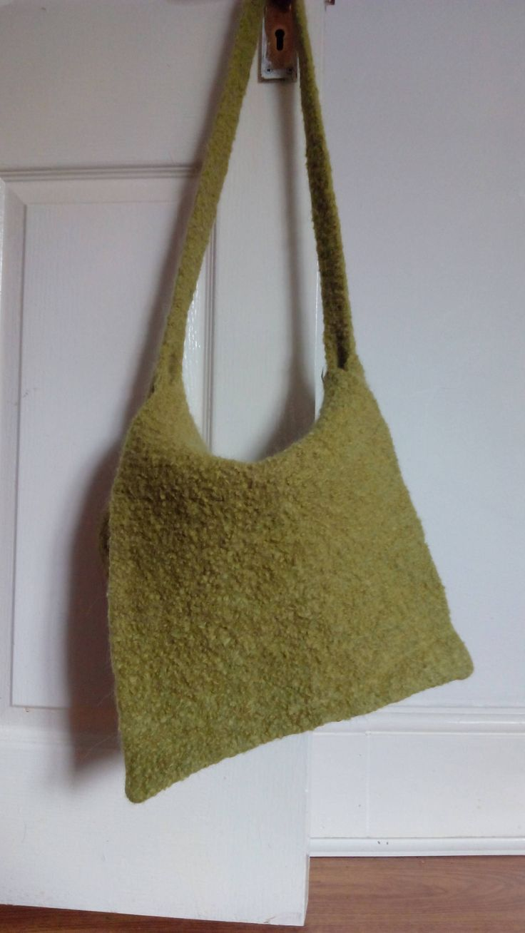 Handmade felt bag by Nokireki on Etsy