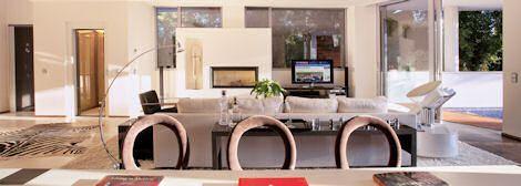 #Modern living room in #Marbella