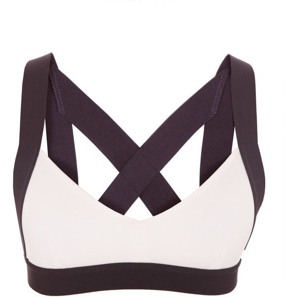 Olympia Activewear X Cross Back Bra (€64) ❤ liked on Polyvore