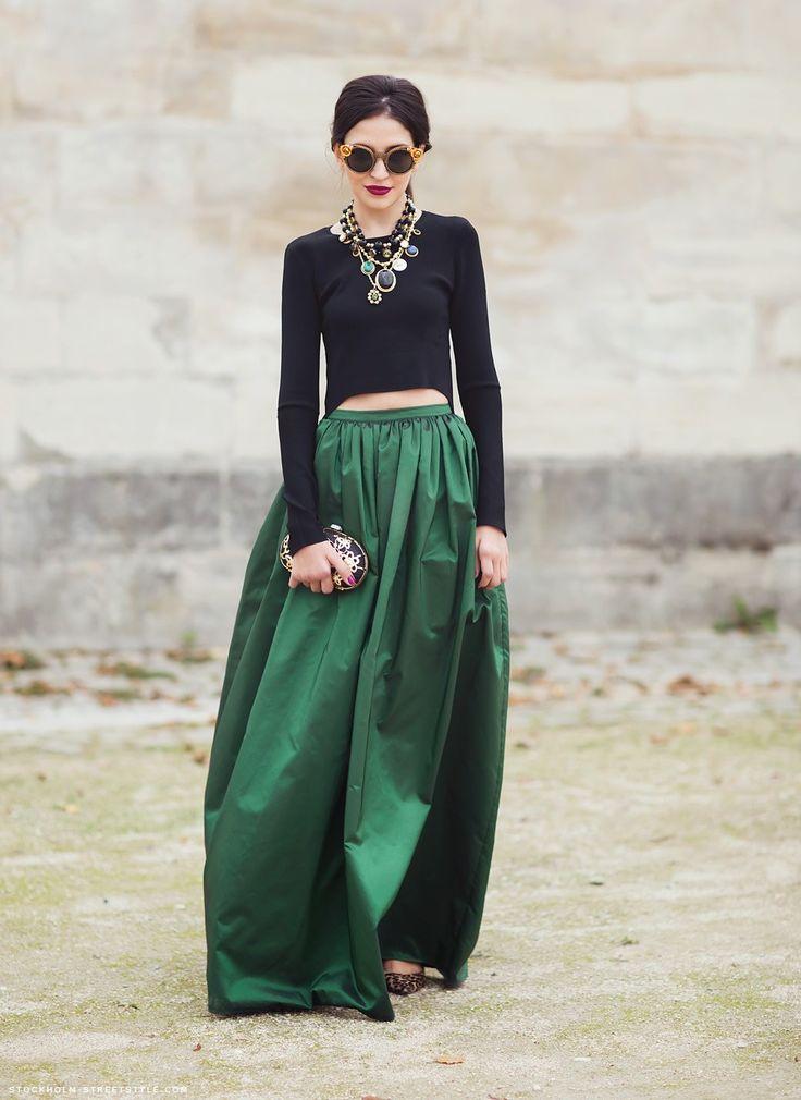 Emerald and black