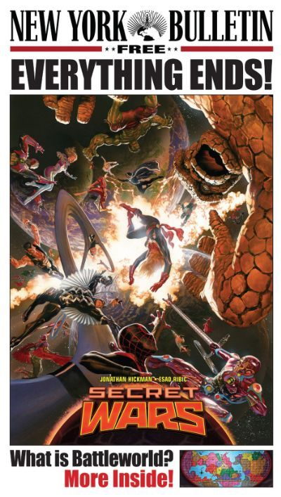 Check out Marvel's New York Bulletin Secret Wars Newspaper on @Marvel
