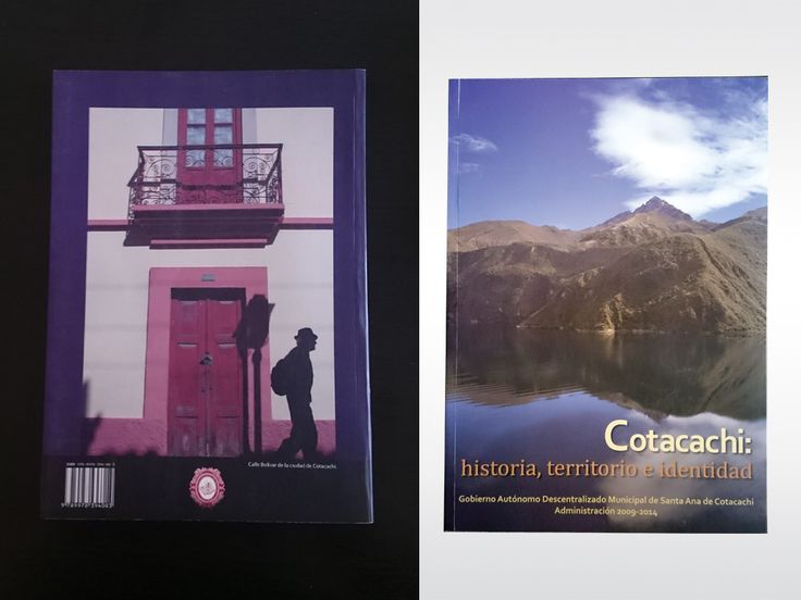 """Diseño y diagramación del libro: """"Cotacachi: historia, territorio e identidad""""."""