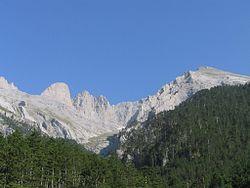 Este es el Monte Olimpo..