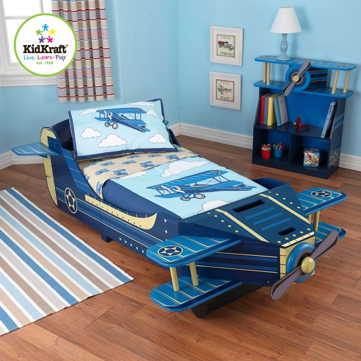 Take A Look At This Airplane Toddler Bed By KidKraft On Today