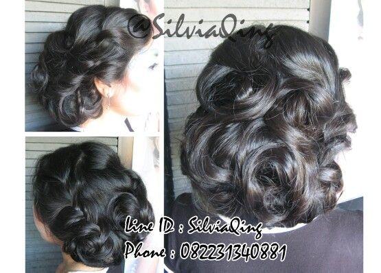 Hair ideas for wedding day #hairdo #hairideas #updo #curly #braids #makeupartist #MUA #silviaqingMUA