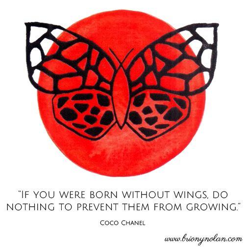 Coco Chanel www.brionynolan.com