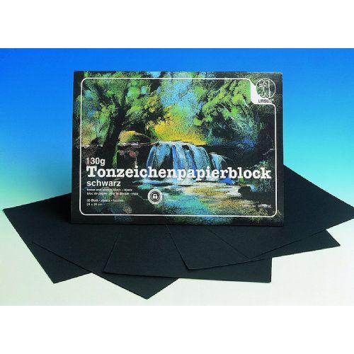 Ursus tekenblok zwart papier