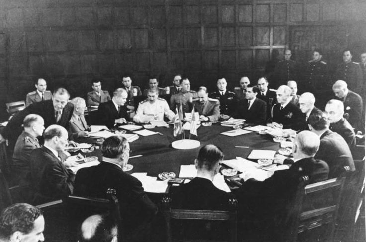 July 26,1945 – The Potsdam Declaration is signed in Potsdam, Germany.