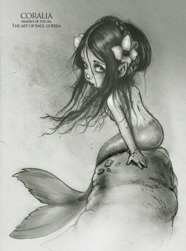 Coralia Maiden of the Sea by raul-guerra.deviantart.com on @deviantART