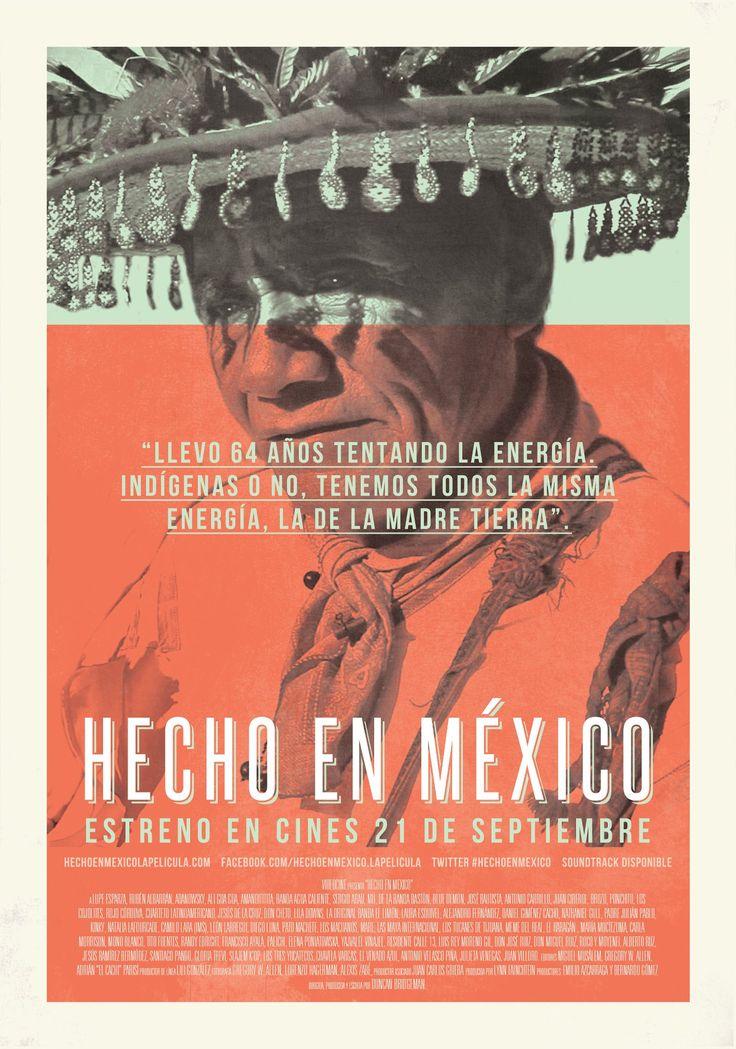 Hecho en México | 2012 | Latino | Documental que busca hacer reflexionar sobre la mexicanidad y mostrar la vida diaria de los mexicanos más allá de las noticias negativas que se esconde en la vida diaria. ...
