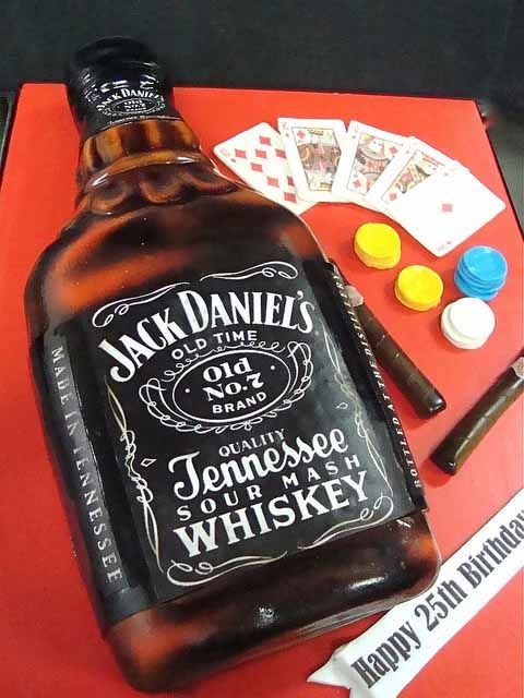 70 Fantastic Cake Designs Which Will Make You Look Twice.  Ok, maybe not the jack daniels cake, but there r others