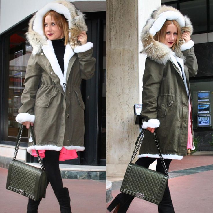 #Parka style #chanel #bag #streetstyle #moda #blogger #outfit #chic #look #trend #parca #mexa #fashionworld #beauti #glam #baby #travel www.modablogger.eu