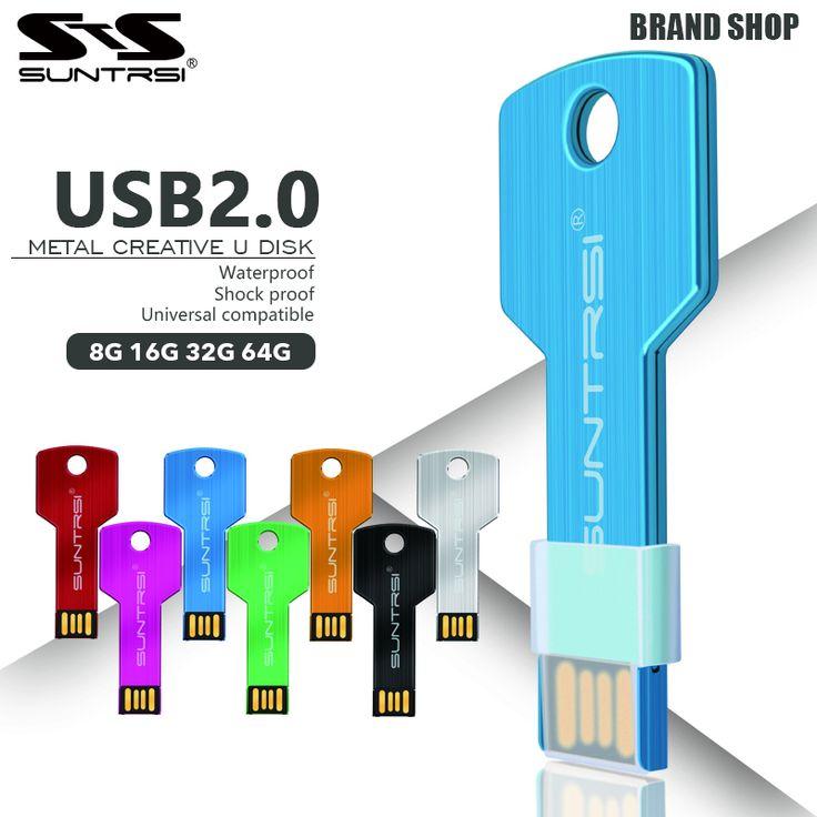 $2.72 (Buy here: https://alitems.com/g/1e8d114494ebda23ff8b16525dc3e8/?i=5&ulp=https%3A%2F%2Fwww.aliexpress.com%2Fitem%2FHigh-quality-usb-flash-drive-64gb-USB-2-0-Pen-Drive-32gb-16gb-8gb-4gb-waterproof%2F32377073665.html ) Suntrsi usb flash drive 64gb USB 2.0 Pen Drive 32gb 16gb 8gb 4gb pendrive waterproof Metal Key Memory Stick Free Shipping for just $2.72