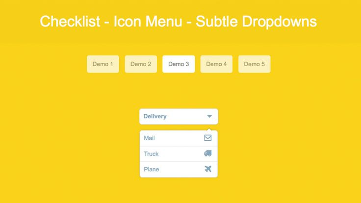 How to Create a Subtle Dropdown Checklist and Menu - http://mocco.sk/how-to-create-a-subtle-dropdown-checklist-and-menu/