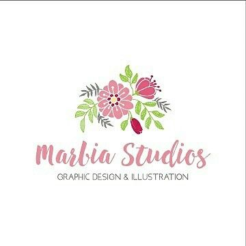 I've just rebranded my business! What do you think of my new logo design? As a graphic designer it's easy to design for clients but its always harder to design for myself. Visit www.marbiastudios.com.au for more of my work.