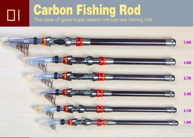 Carbon Fiber Fishing Rod Telescopic