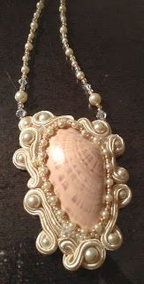 French Mermaid Collection: COUTURE HAND EMBROIDERED SOUTACHE JEWELRY