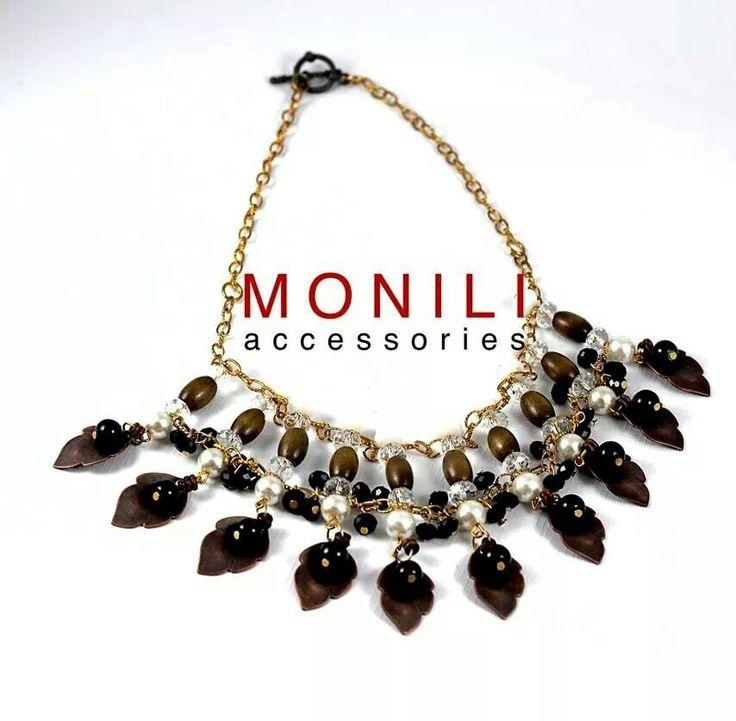 Stylish Statement necklace by MONILI