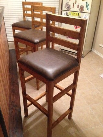 Extra Tall Bar Stools | Do It Yourself Home Projects from Ana White