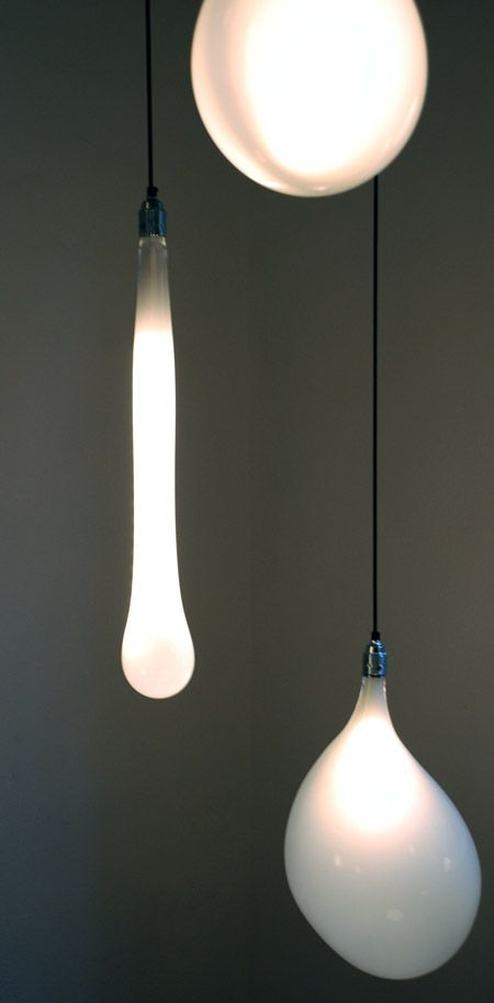 I'm drawn to organic light forms due to the juxtaposition of the order/science of light and 'disorder' of the form...