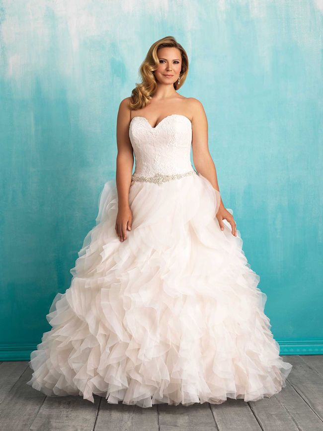 The 25 Best Curvy Wedding Dresses Ideas On Pinterest