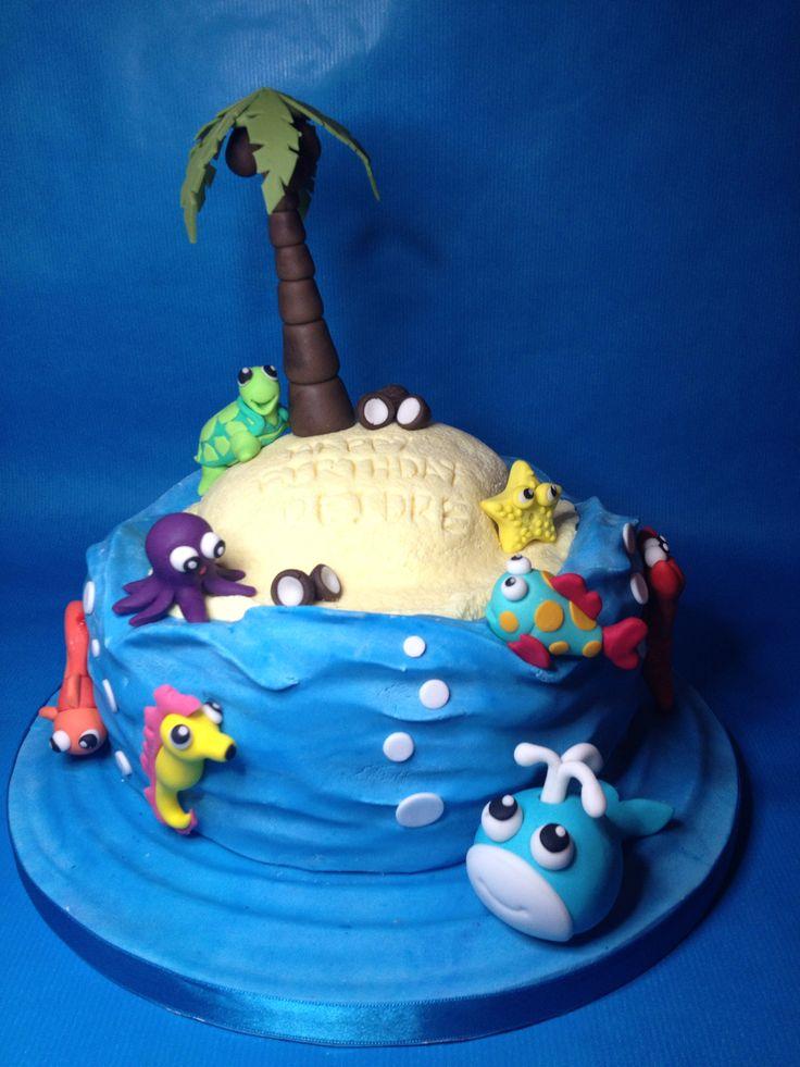 Desert Island Cake All Handmade All Edible Cakes