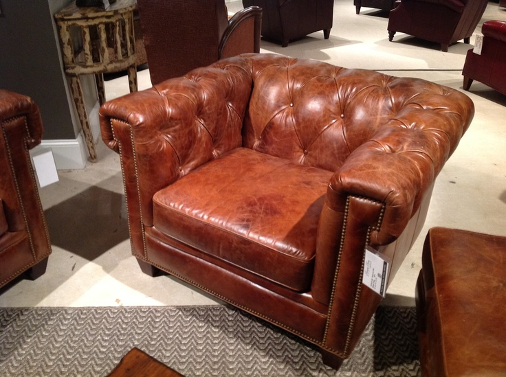 Classic Leather Chair From Bradington Young Chairs
