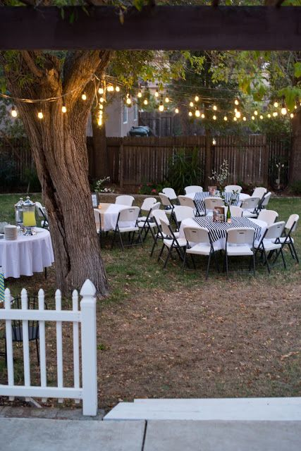 Domestic Fashionista: Backyard Birthday Party: For the Guy in Your Life